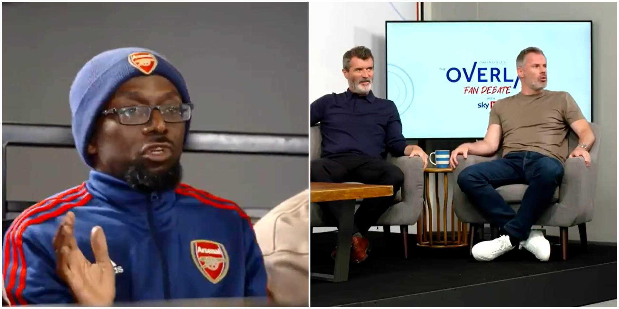 (Video) Carragher makes AFTV's Ty look utterly silly after bizarre Premier League rant