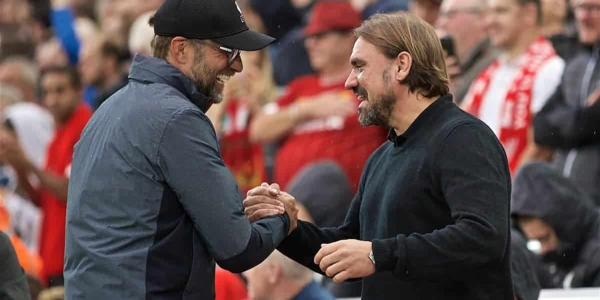 """Daniel Farke gracious in defeat to Liverpool: """"It was a deserved win – a world-class side"""""""