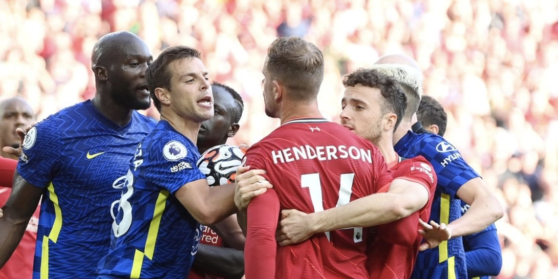 Chelsea could be hit with points deduction after failing to control their players at Anfield