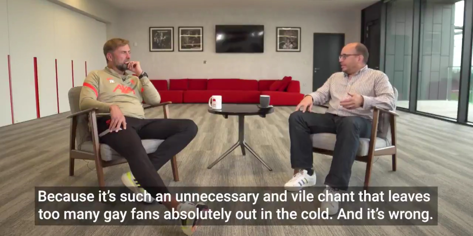 Jurgen Klopp slams homophobic chanting and labels participating Liverpool fans 'idiots'
