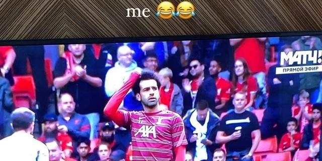 (Image) Dejan Lovren hits social media with funny post about Mo Salah