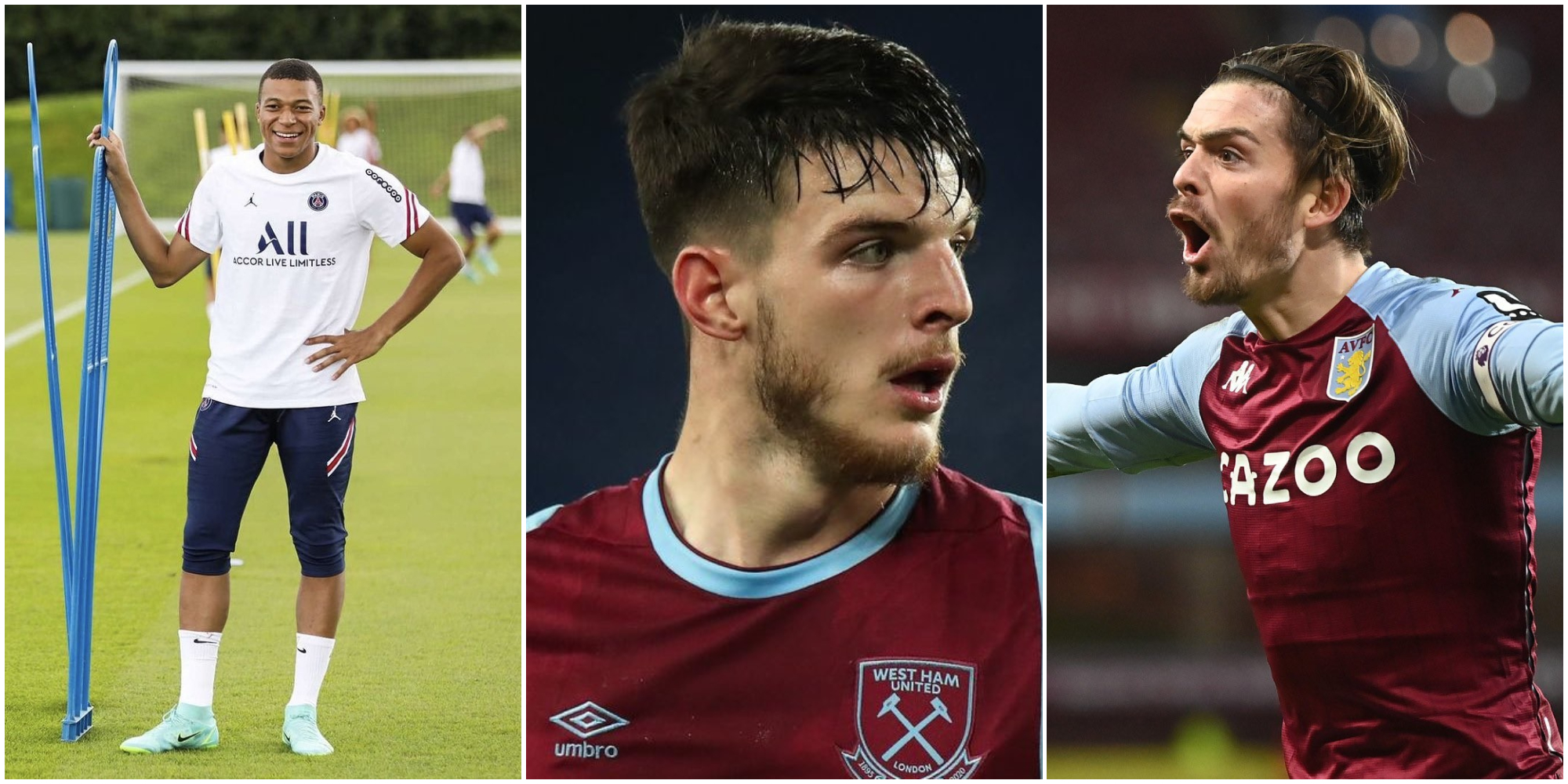 Liverpool fans have Mbappe, Grealish and West Ham star as their top three dream signings