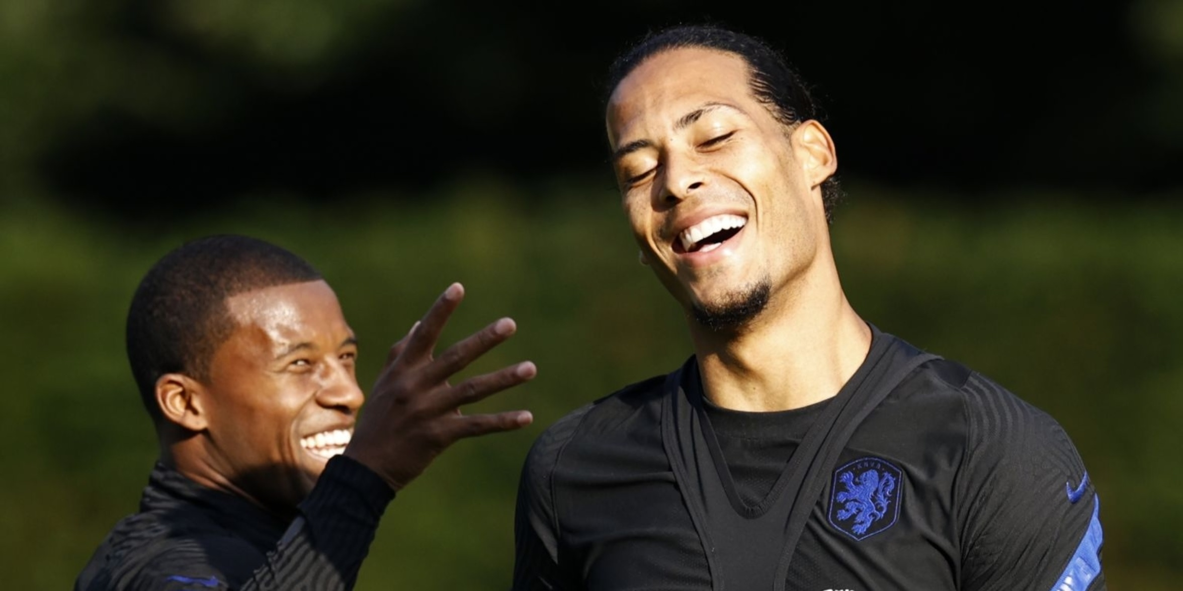 (Photos) Wijnaldum snapped training with Liverpool star during international break