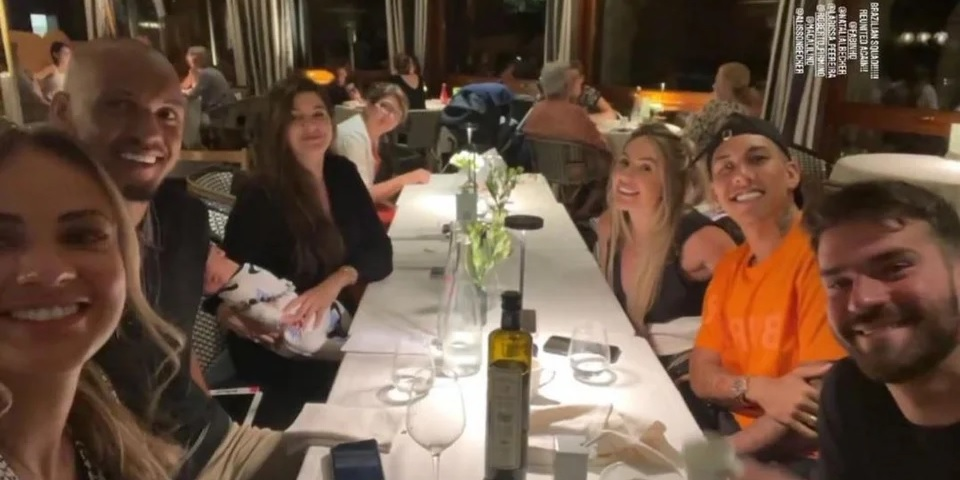 (Photo) Liverpool stars & their wives holiday together before joining pre-season in Evian