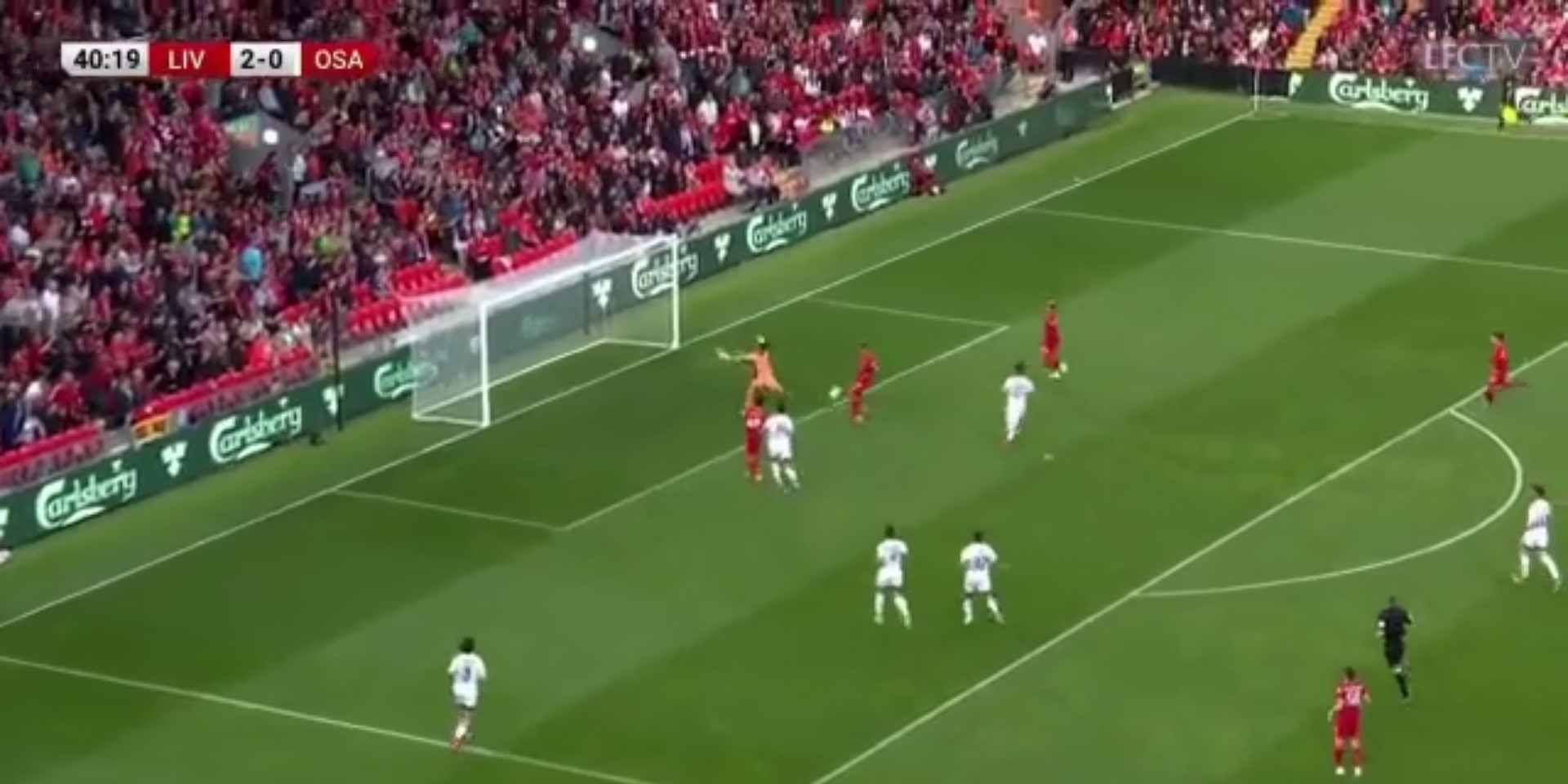 (Video) Firmino bags brilliant brace with world-class first-touch after Minamino cross