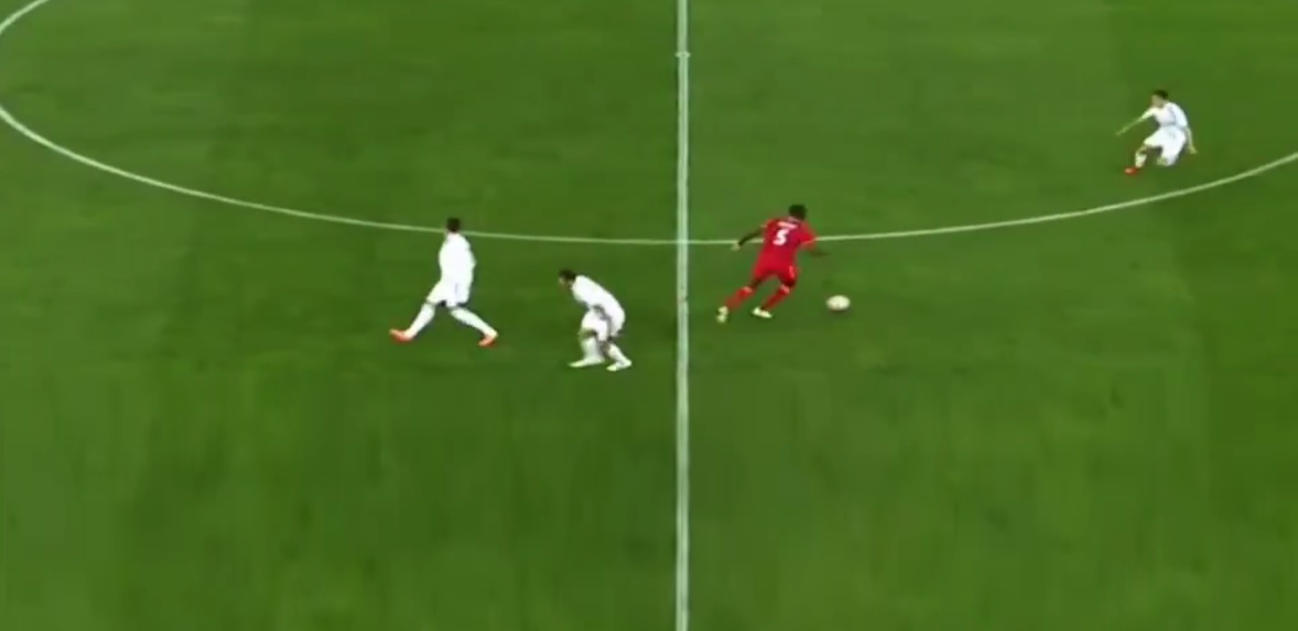 (Video) Clip of impressive Ibou Konate run hits Reddit, a must-watch for Liverpool fans