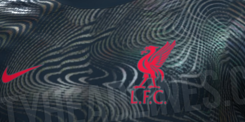 (Images) Eye-catching dark blue Liverpool kit hits social media; set for 2022 release