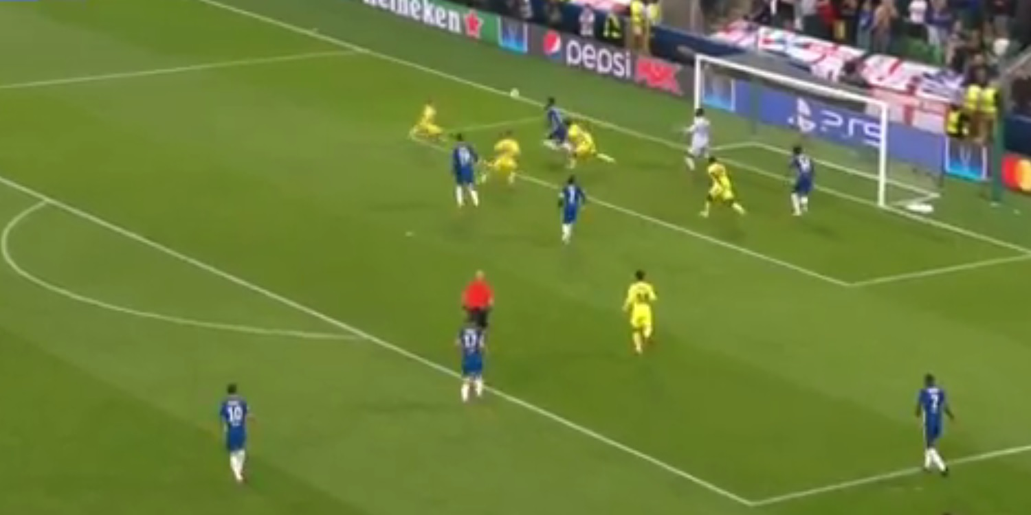 (Video) Former Liverpool player rattles crossbar v. Chelsea; inches away from being Super Cup hero