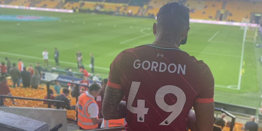 (Photo) Kaide Gordon's brother hits social media with lovely post as LFC starlet makes debut