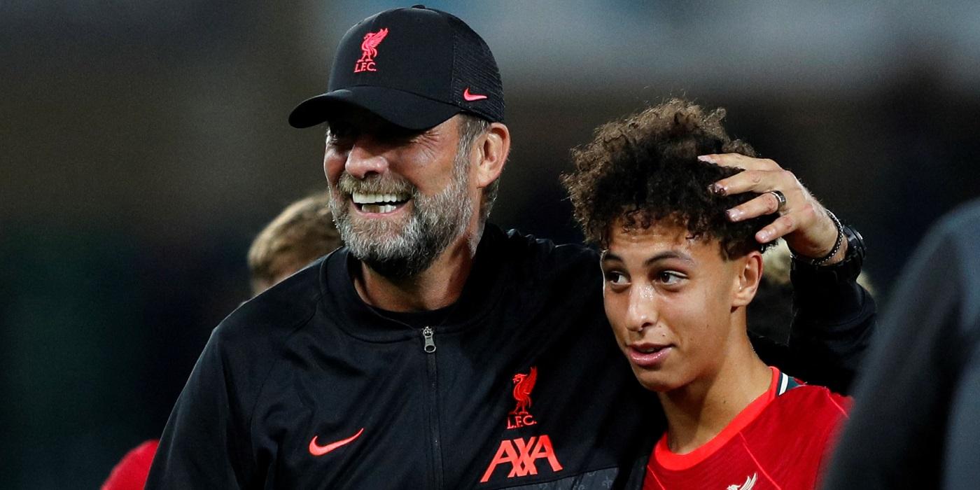 Jurgen Klopp reveals what Kaide Gordon said to him after Liverpool debut