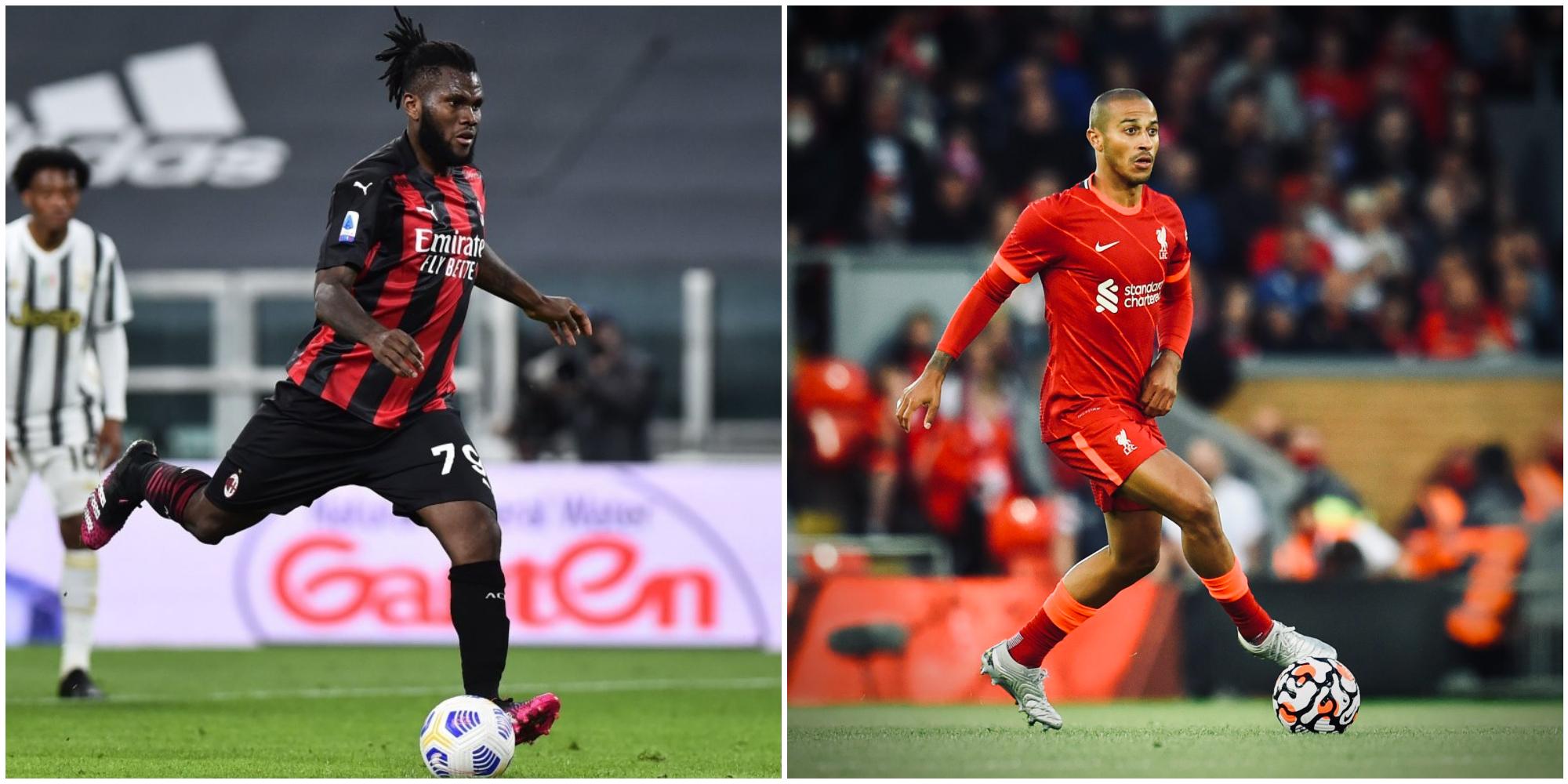 Serie A giants would entertain Franck Kessie swap for Liverpool's Thiago Alcantara – report