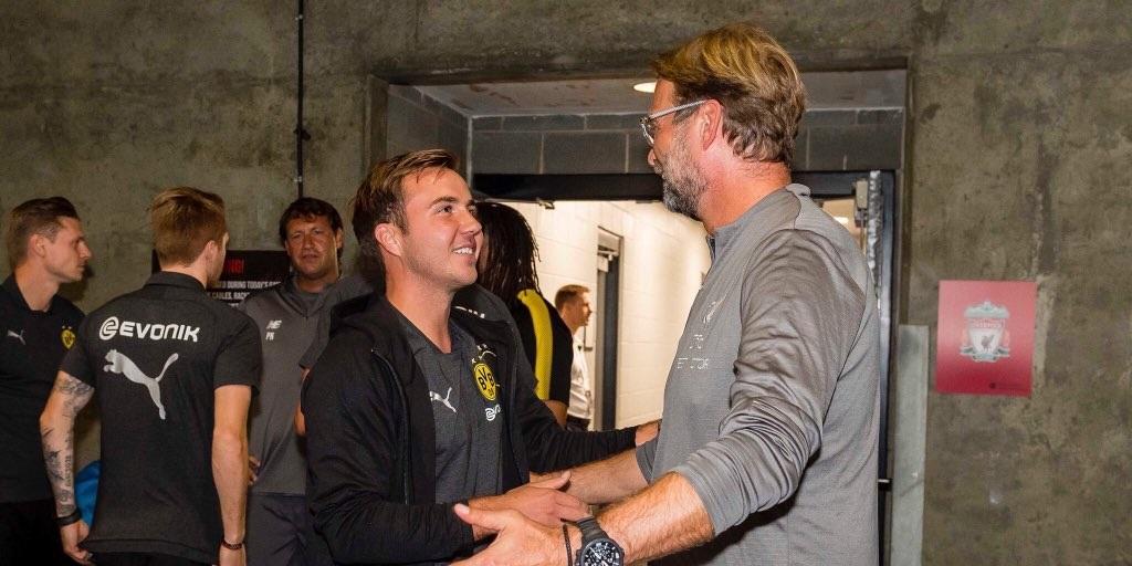 Mario Gotze opens up on transfer decision that infuriated Jurgen Klopp in his Dortmund days