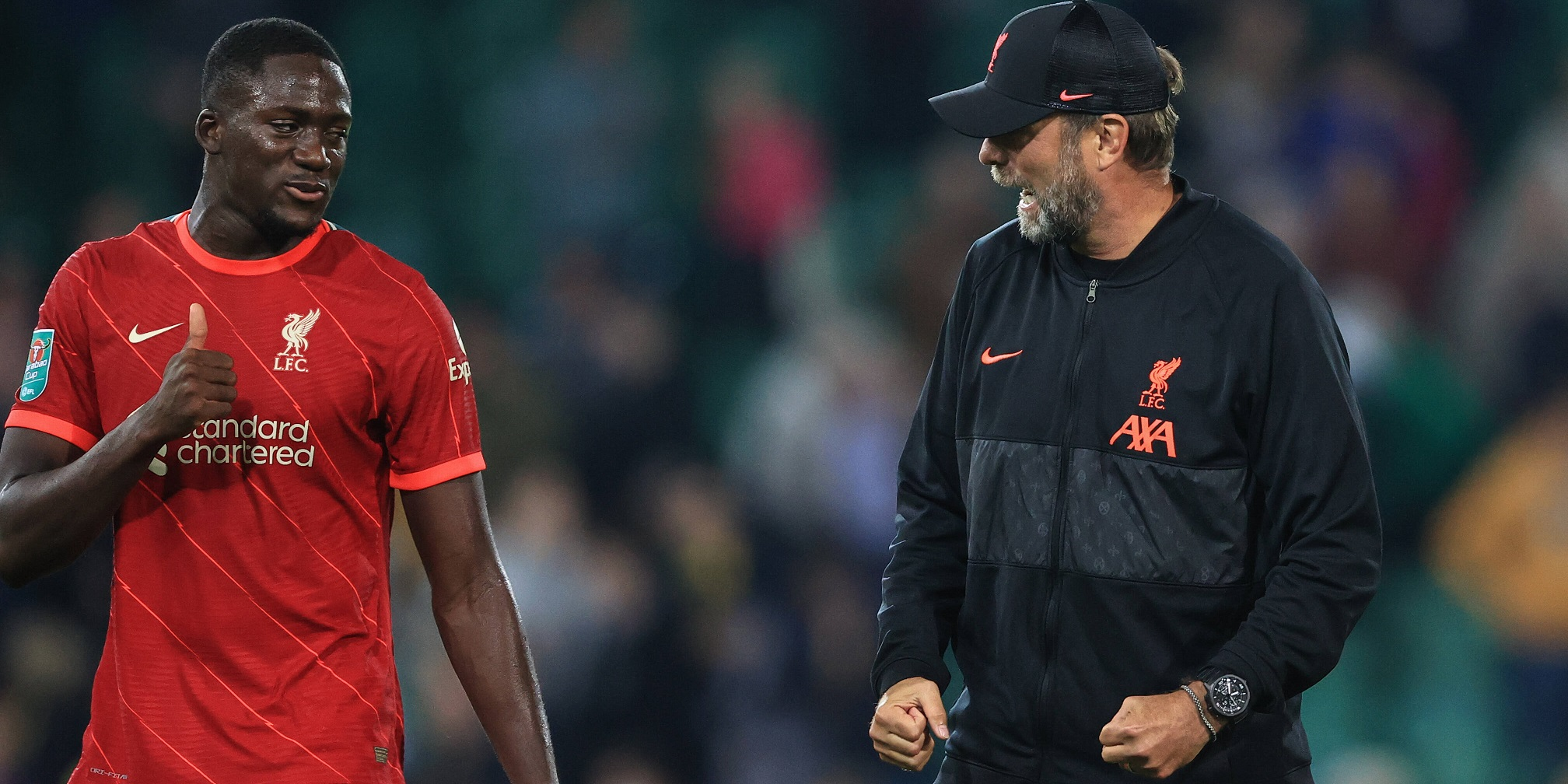 Klopp could risk unsettling one Liverpool star if he doesn't rest Van Dijk, suggests injury expert