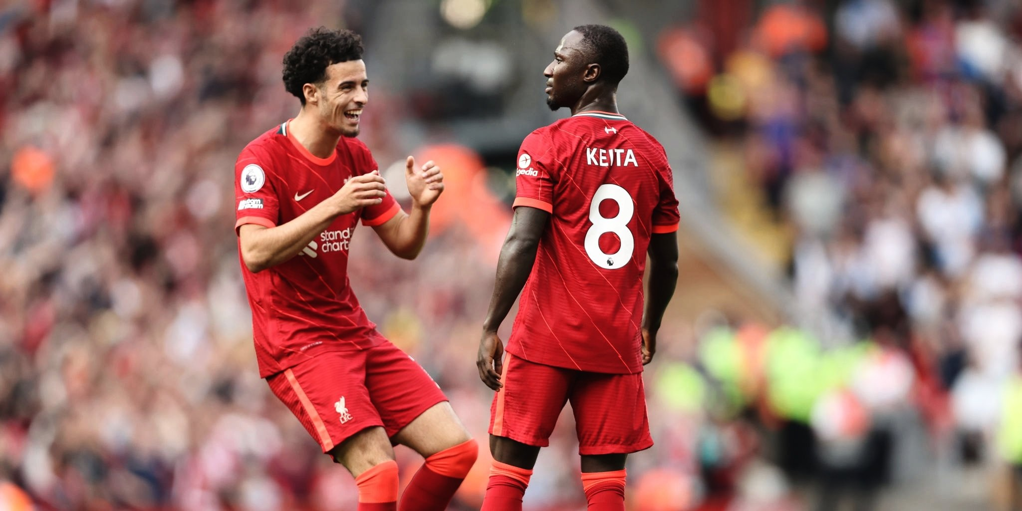 (Video) Liverpool fans will love Keita's reaction to his spectacular Crystal Palace goal