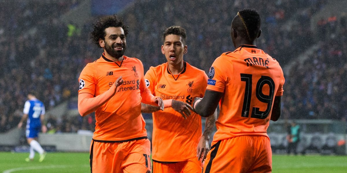 (Video) Throwback: Sadio Mane's hat-trick as Liverpool steamroll Porto in 2018