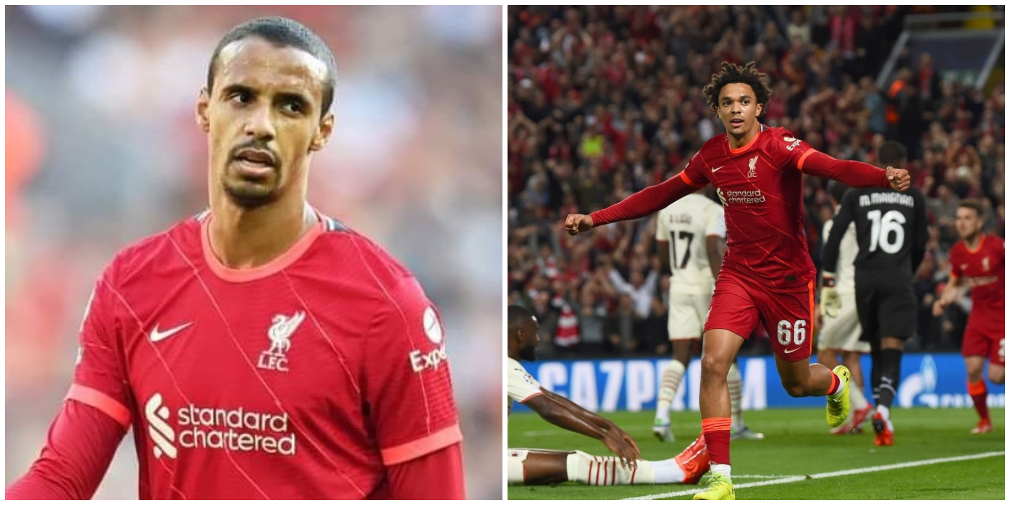 Explained: Trent Alexander-Arnold and Joel Matip's absences from Liverpool squad