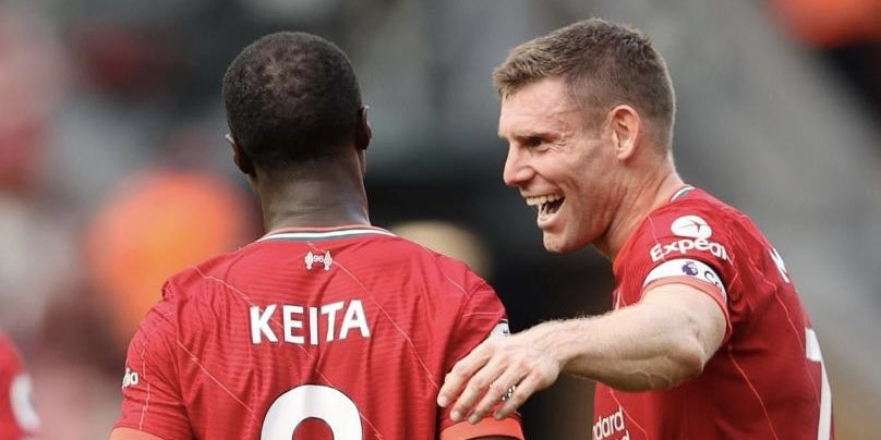 Milner aims cheeky 'Zaha-itis' dig at absent Trent Alexander-Arnold