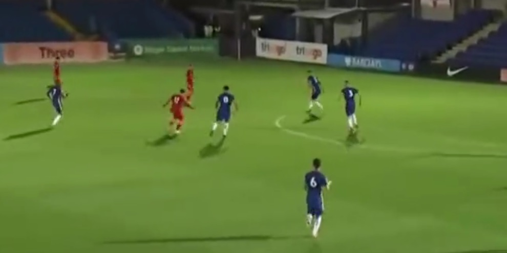 (Video) Liverpool starlet Musialowski bags glorious counter-attack goal v. Chelsea