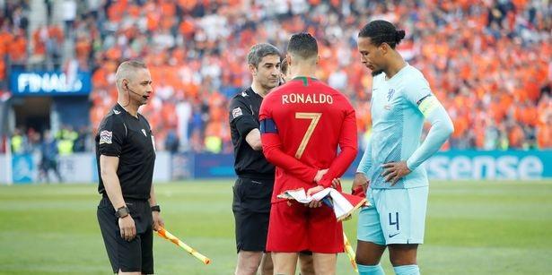 Cristiano Ronaldo 'won't put fear' into Liverpool's Virgil van Dijk, claims radio host