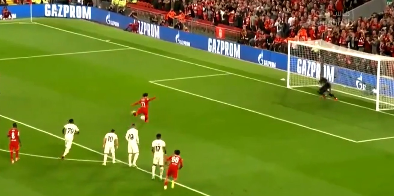 (Video) Salah fails to convert spot-kick for first time since October 2017 to keep scoreline at 1-0