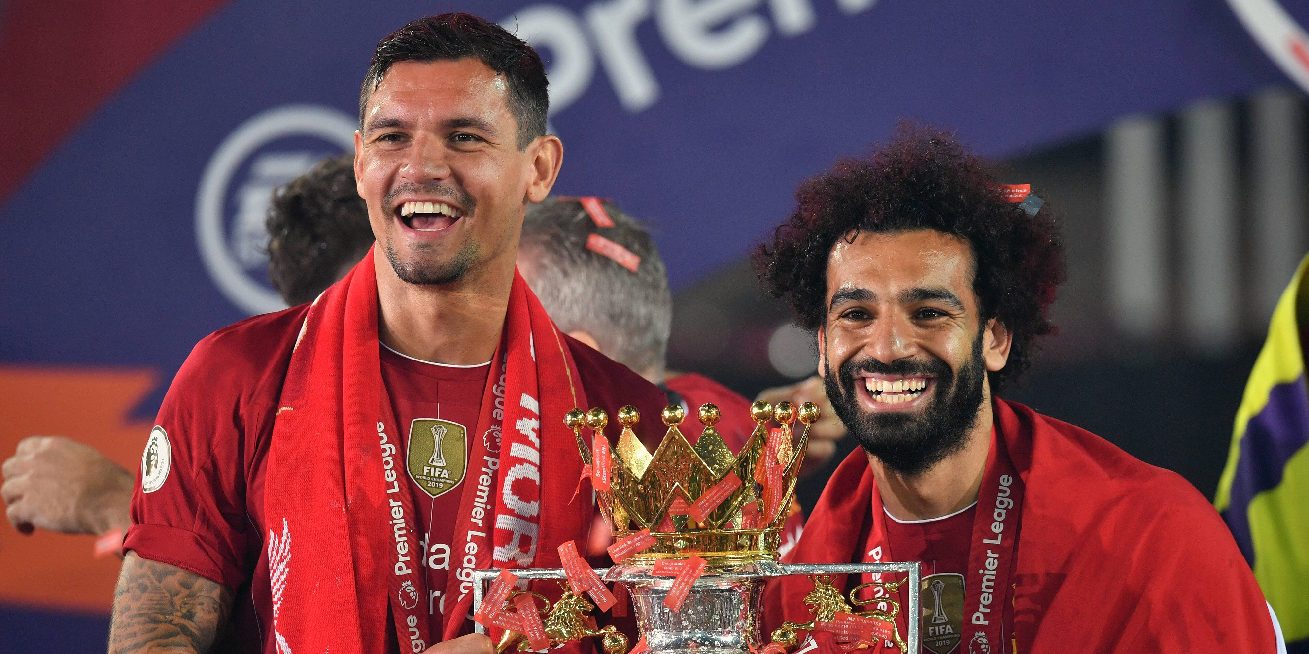 'CR7 or MS?' – Lovren shares text conversation with Salah after Liverpool attacker scores 100th PL goal for Reds