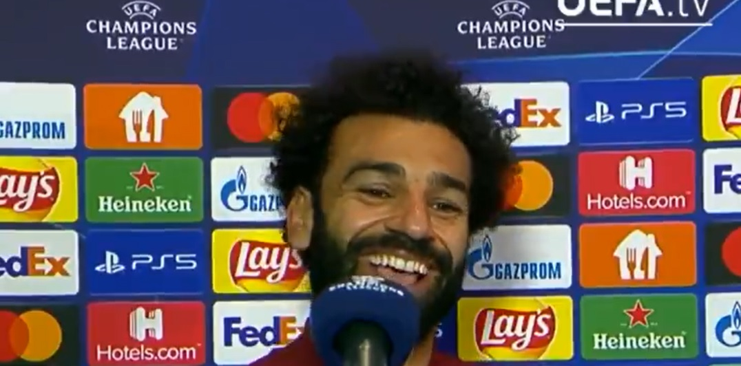 Salah makes cheeky remark at Porto's expense after Liverpool run riot in Portugal