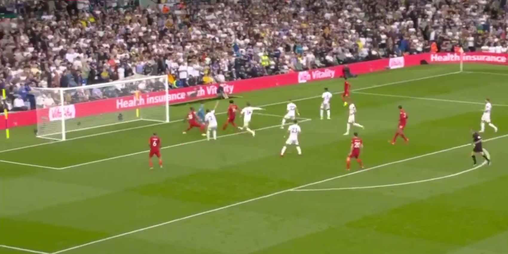 (Video) Mo Salah hits Premier League milestone with fine finish against Leeds United