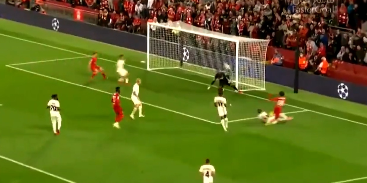 (Video) Liverpool strike first with fortunate Trent deflection handing Reds opener v AC Milan