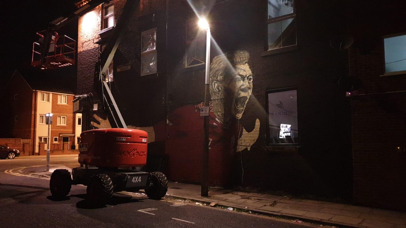 (Photos) New Steven Gerrard mural pops up in Liverpool near Anfield