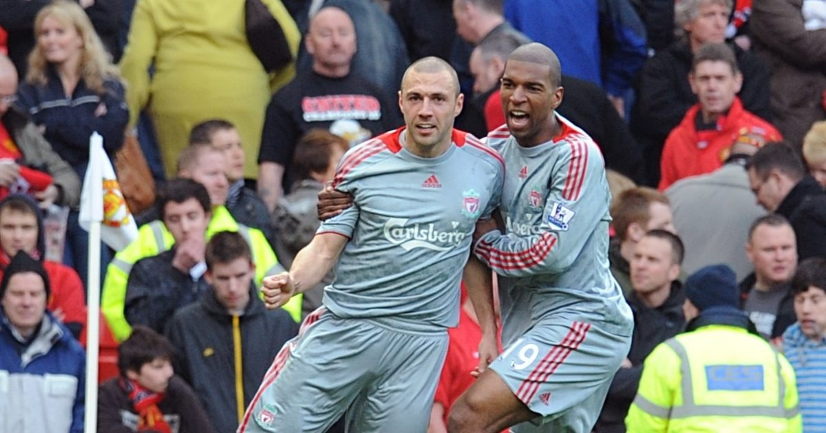 (Video) Recalling when LFC's Andrea Dossena lobbed Edwin van der Sar in 4-1 rout at Old Trafford