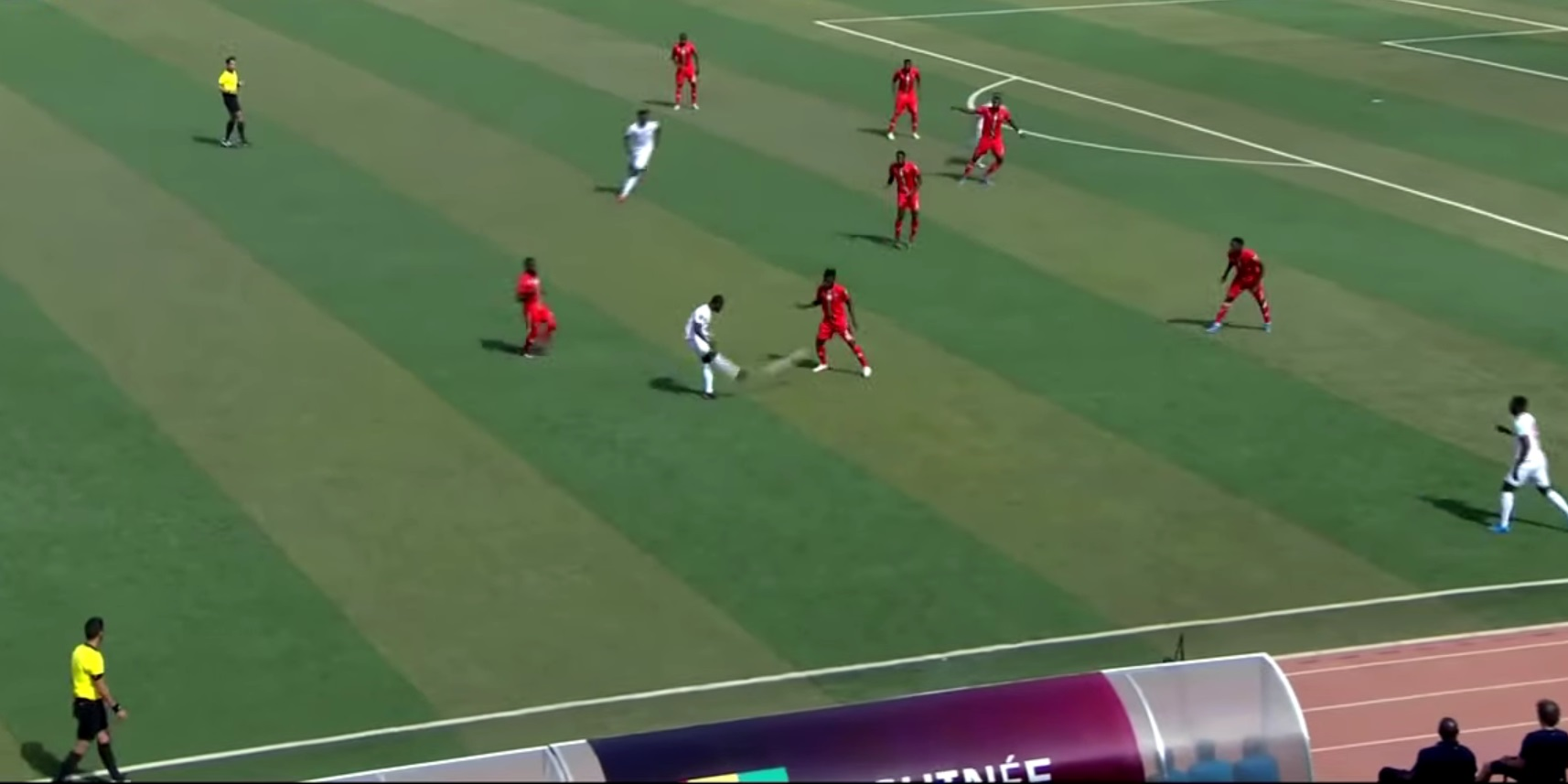 (Video) Naby Keita bags beautiful assist for Guinea with expertly-weighted pass