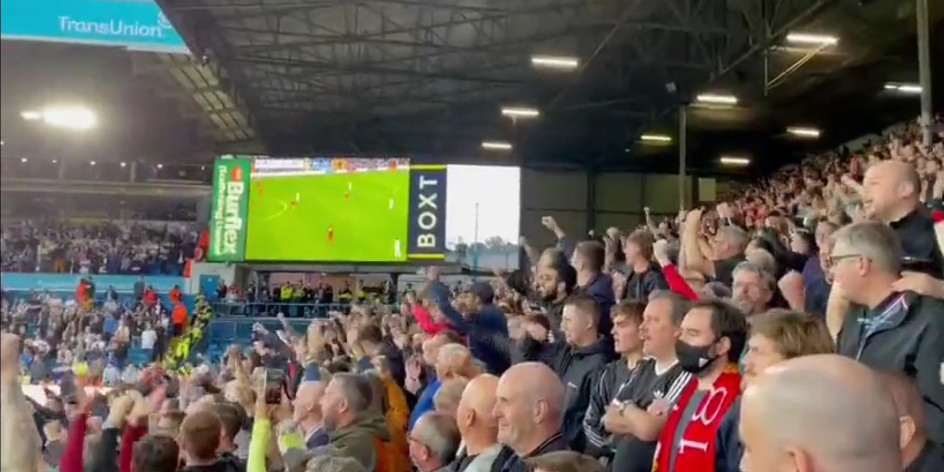 """(Video) These Liverpool fans sing funny new chant about winning the league with """"no money"""""""