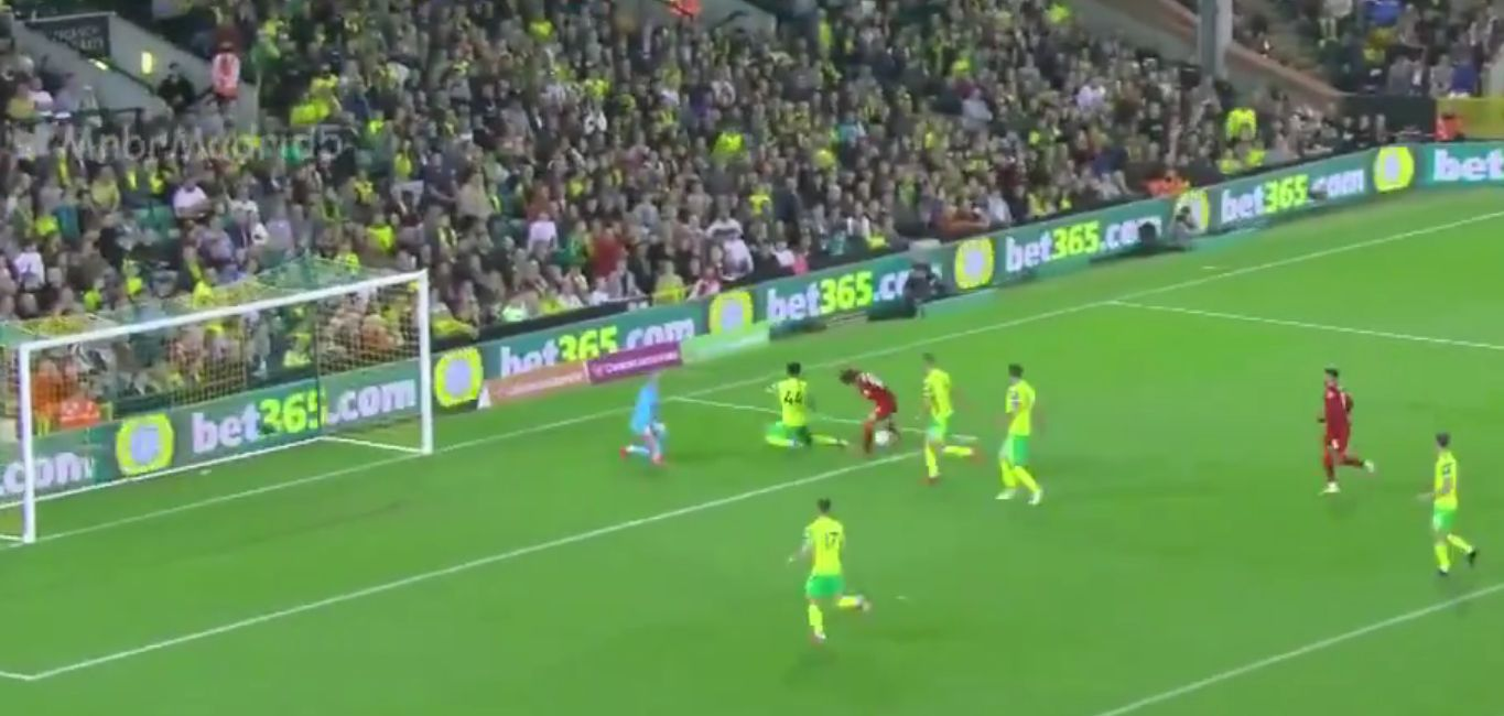 (Video) Minamino bags brace for Liverpool as Reds cruise past Norwich in the EFL Cup