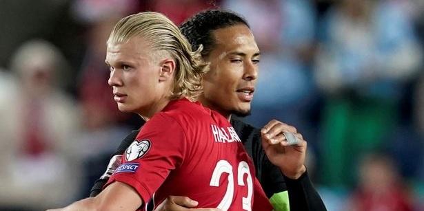 Erling Haaland reveals Virgil van Dijk's explicit six-word reaction to minor injury