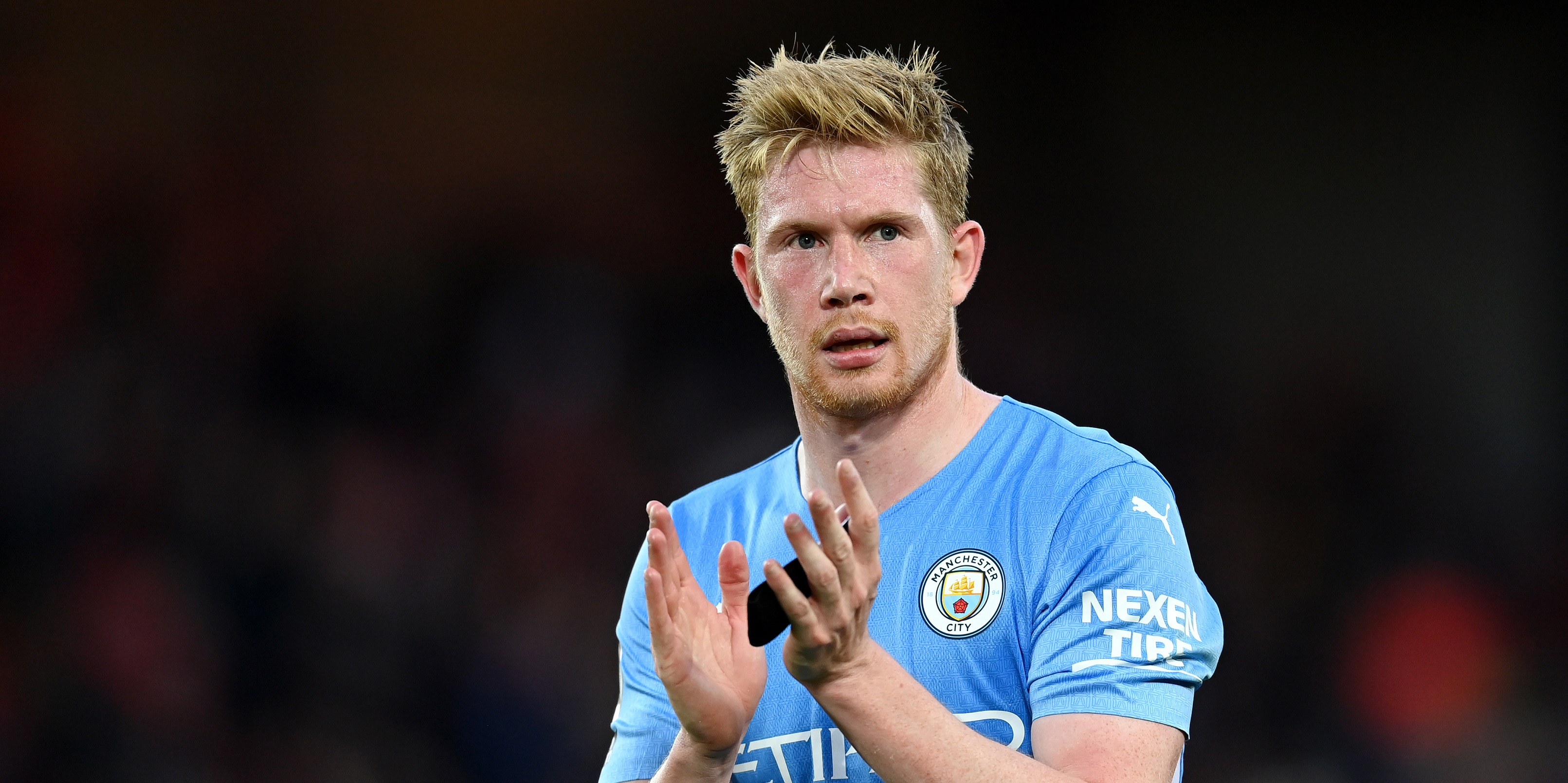 Man City post 'justice' tweet following De Bruyne's equaliser in Liverpool draw