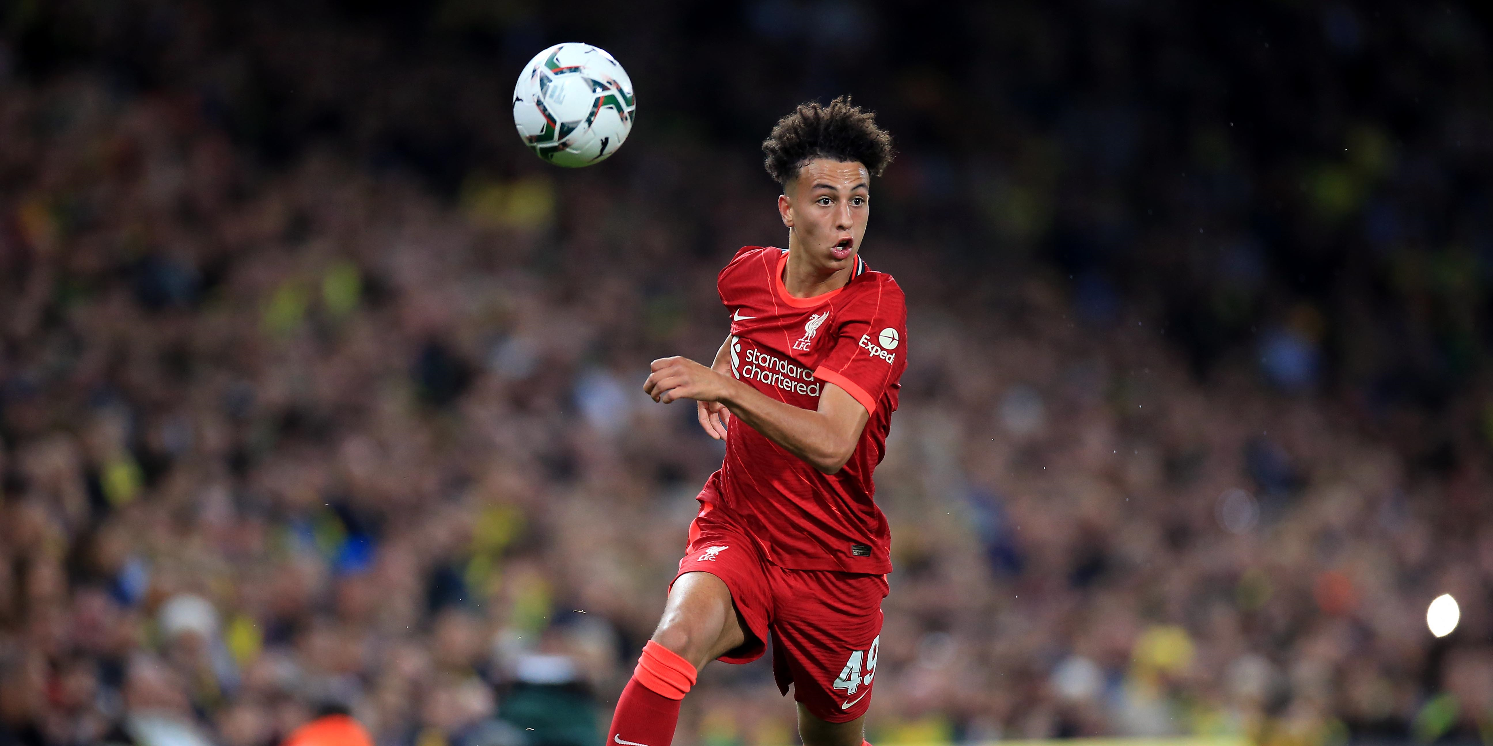 Liverpool starlet once dubbed the 'best 16-year-old in the country' signs first professional contract with Reds