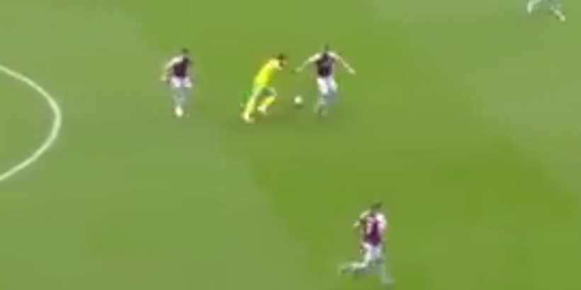 (Video) Liverpool fans need to see this brilliant Ozan Kabak run; channelling inner Joel Matip