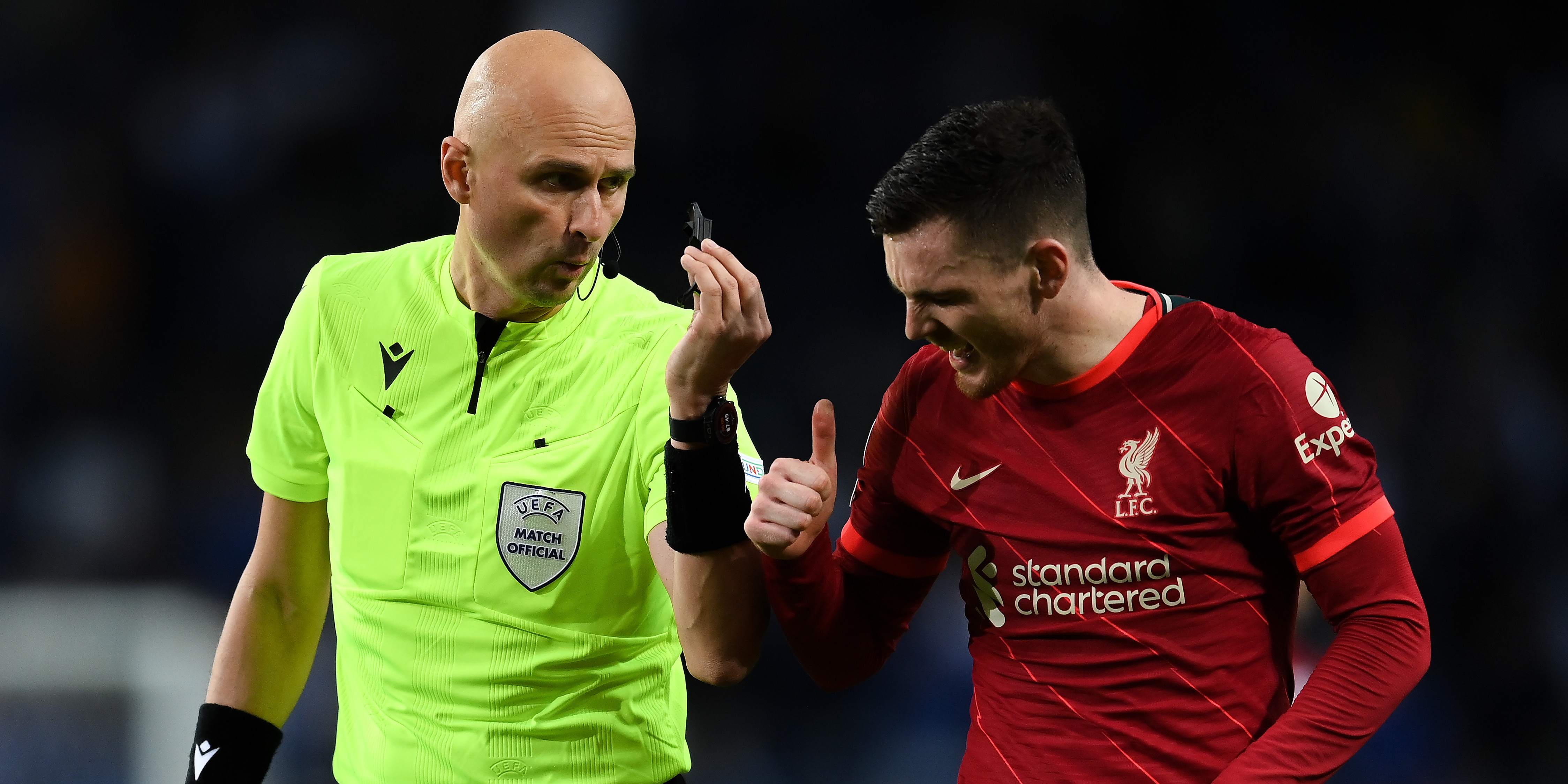 Liverpool supporters amongst the least critical fanbases when it comes to refereeing decisions