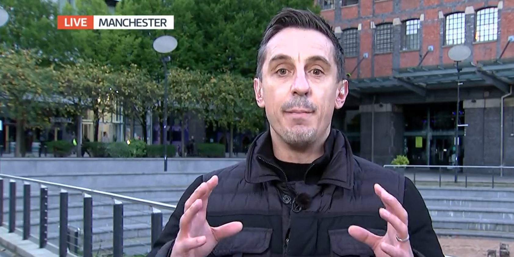 Some Liverpool fans react to Gary Neville ripping into ex-Conservative MP on TV