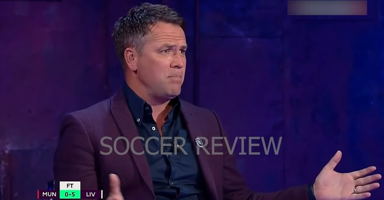 Michael Owen says there 'isn't a huge difference' between Liverpool and Manchester United players