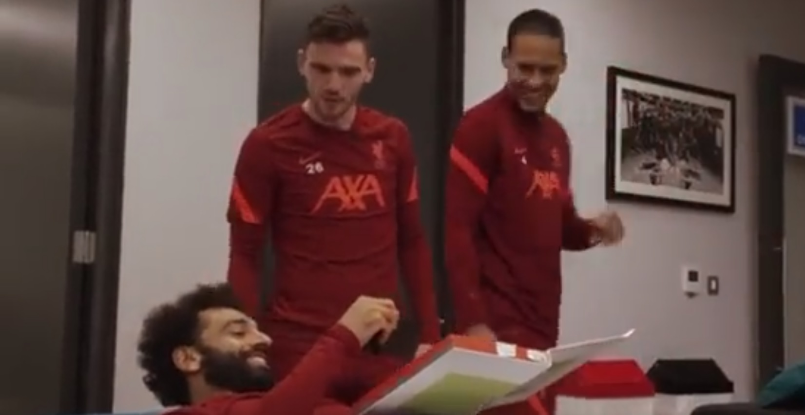 Liverpool fan notices Mo Salah's reaction has been cut from Reds' YouTube FIFA ratings reveal