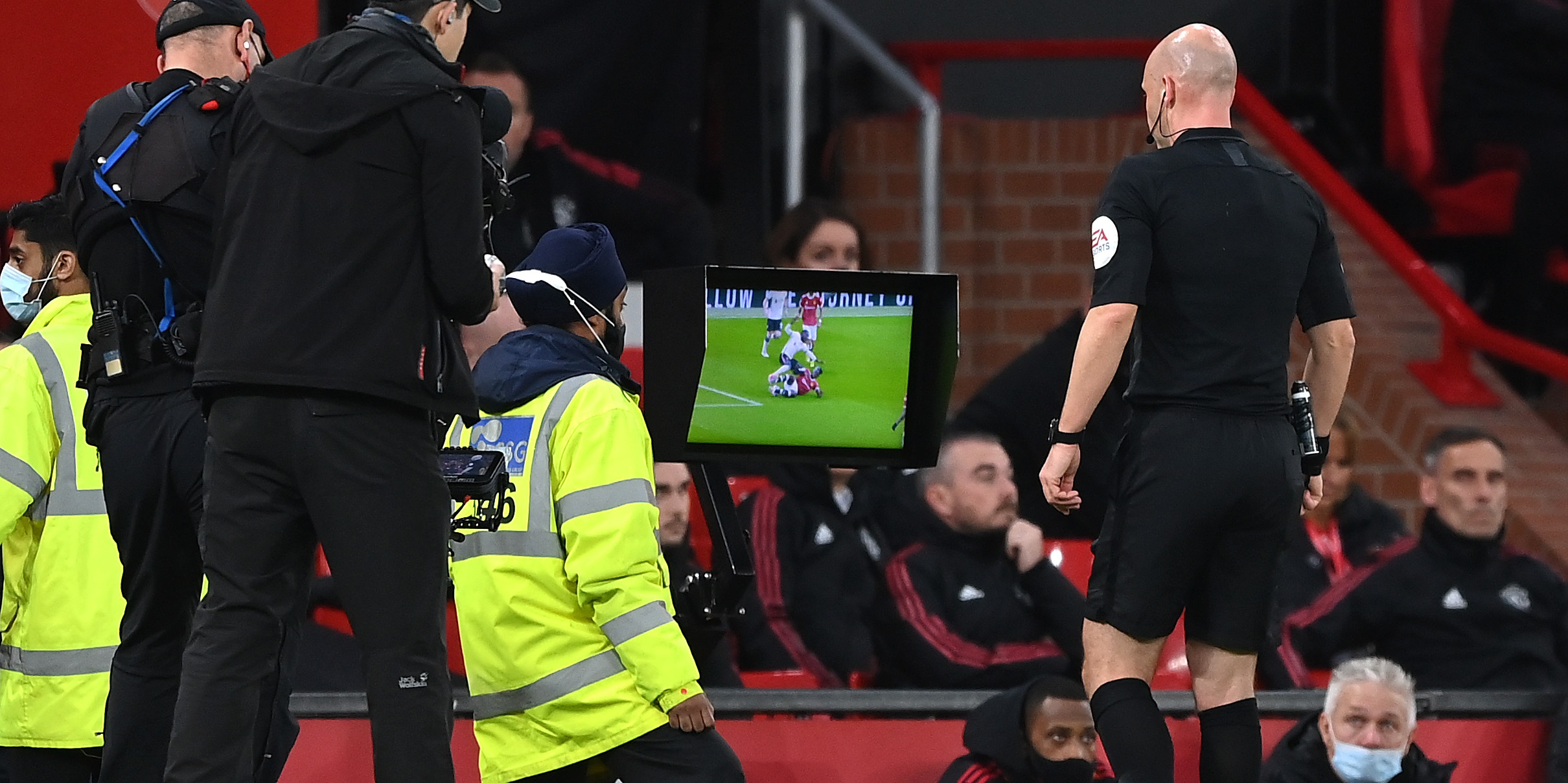 Ex-referee pans 'clear and obvious error' from Anthony Taylor in handling contentious tackle in Liverpool's Old Trafford win