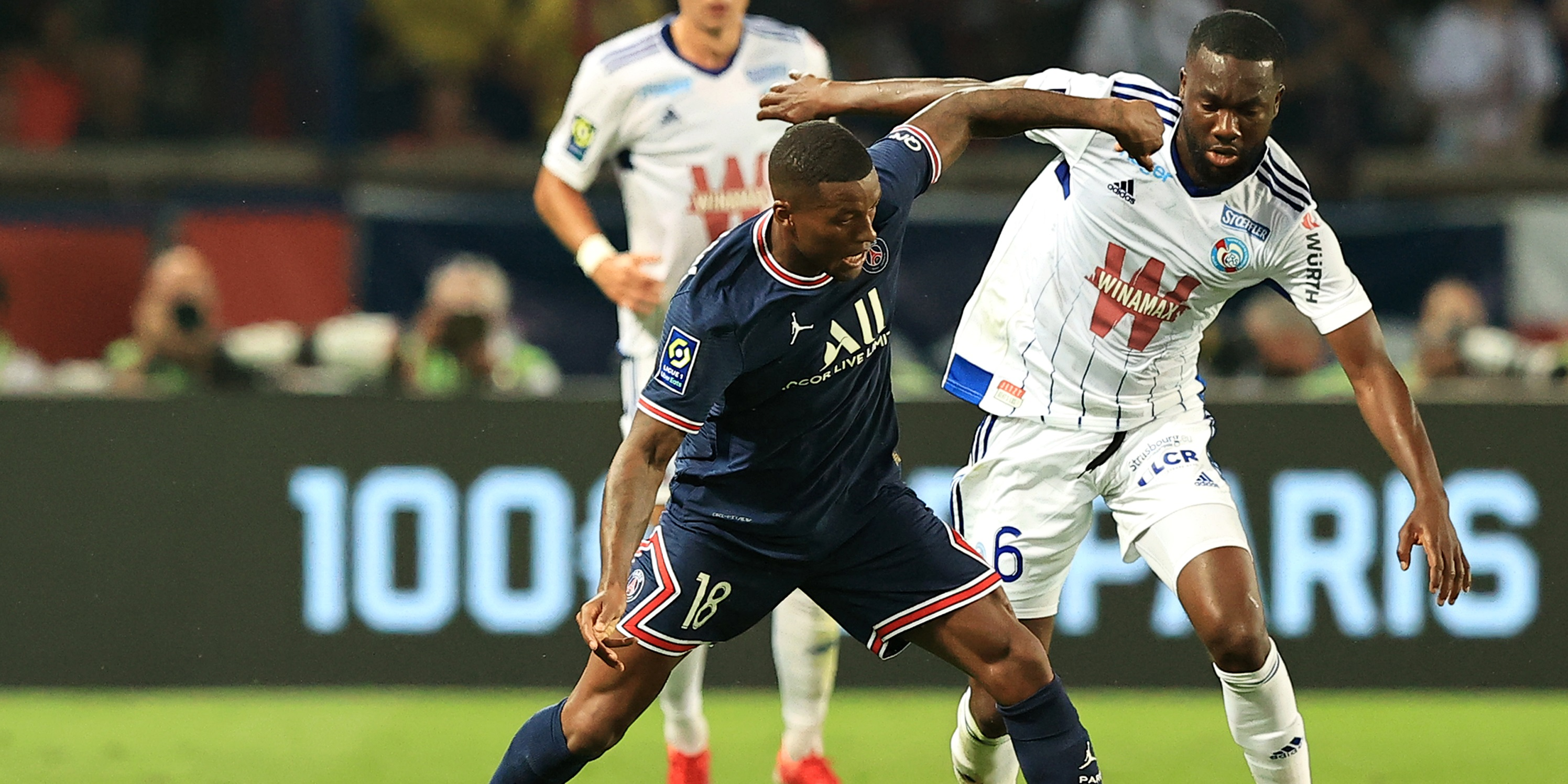 Ex-Red Wijnaldum opens up on PSG unhappiness as former Everton and Man United midfielders favoured over him