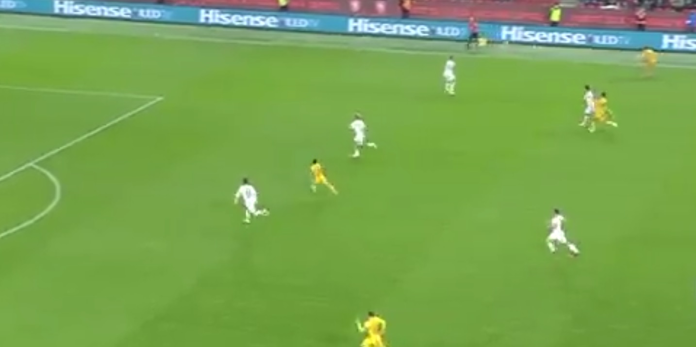 (Video) Neco Williams registers fine assist with Trent-esque cross for Wales' opener v Czech Republic