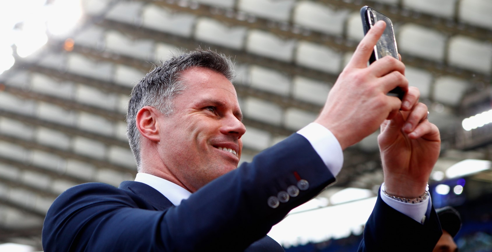 Jamie Carragher quick to remind Gary Neville of his confident prediction that 'United are going to beat Liverpool on Sunday'