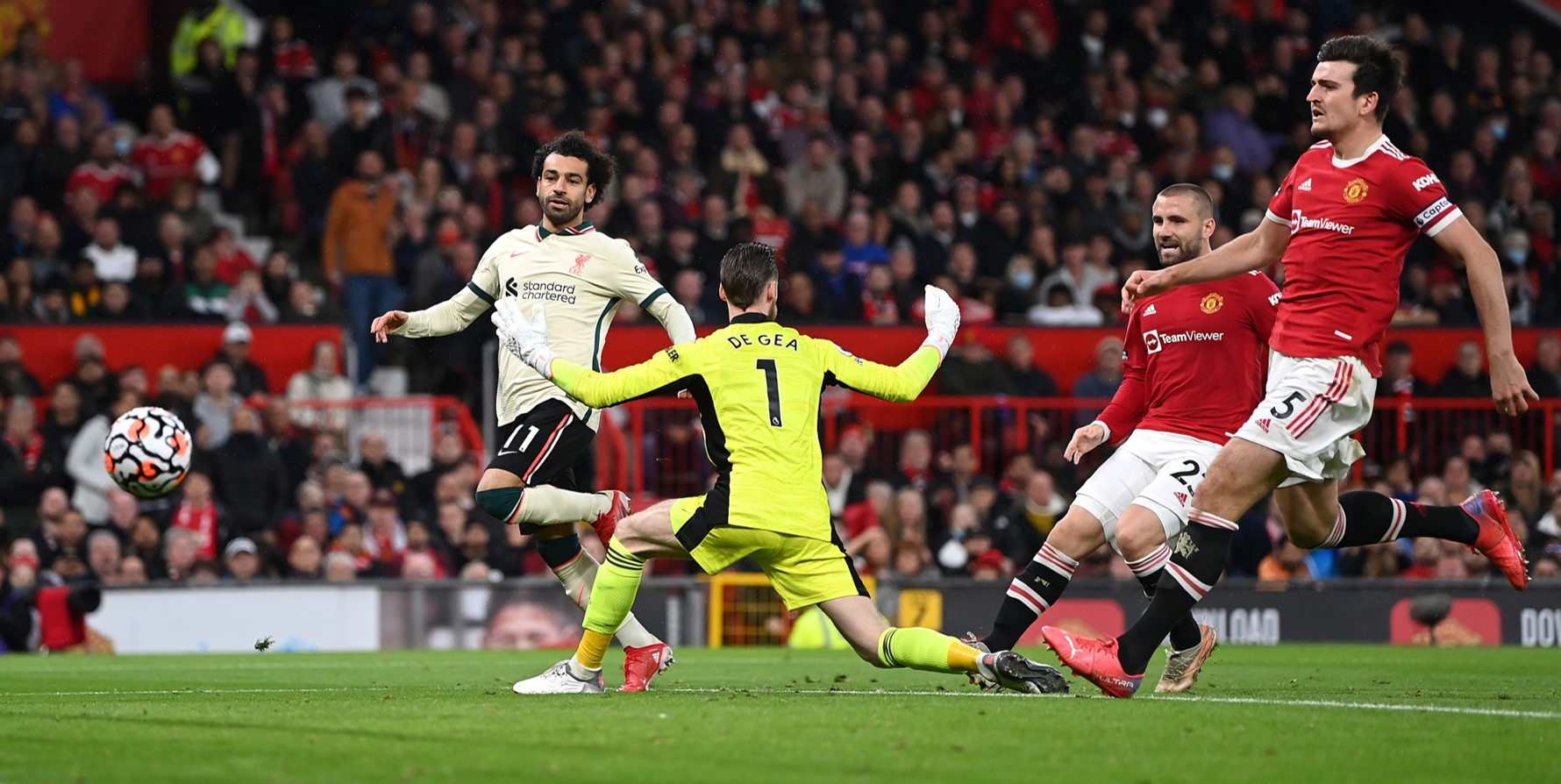 Only one Manchester United player has more goals than Mo Salah at Old Trafford this calendar year